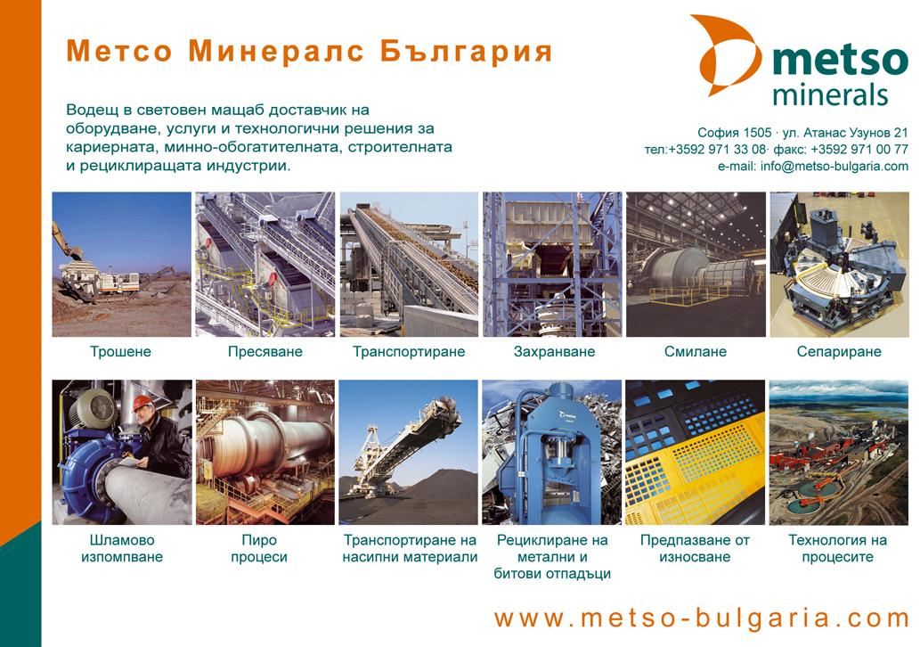 Метсо Минералс България