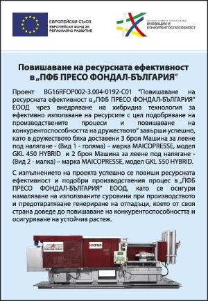 ПФБ Пресо Фондал България