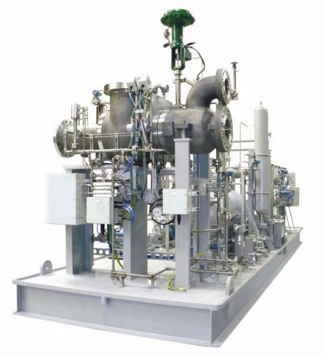 Atlas Copco предлага разнообразно оборудване за технологичните процеси в газовия сектор