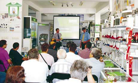 Семинар на Ехнатон представи електроапаратура на Murrelektronik