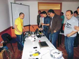 """Ехнатон с поредица от семинари """"Cognex -–машинно зрение в индустрията"""""""
