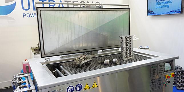 До 80% по-ниски разходи за труд при почистване на части с ултразвукови вани UltraTecno
