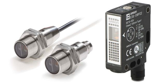 Сензорът E3S-DB на OMRON осигурява надеждно откриване на всички видове прозрачни обекти като РЕТ и стъклени бутилки