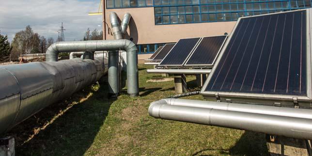 Използване на соларна топлинна енергия в индустрията