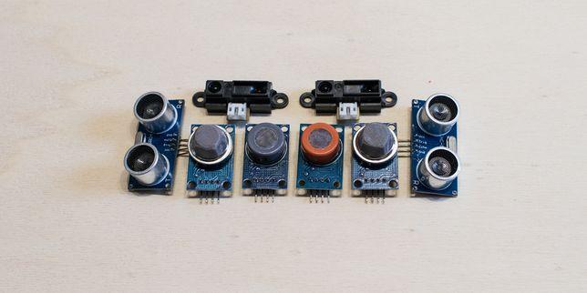 Интегрални сензори за температура, налягане, влажност и газове