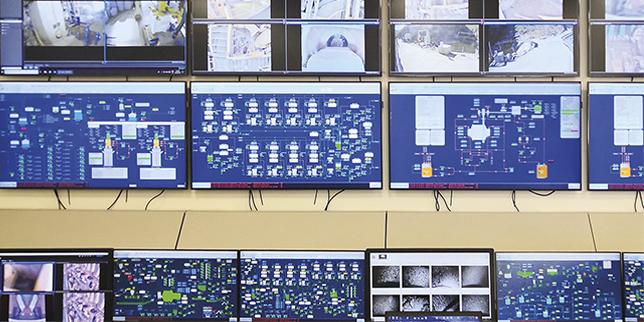 Повишена ефективност на производството с контролна зала за наблюдение и управление на производствения процес