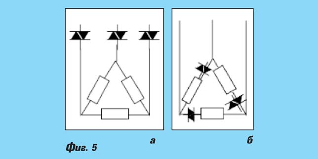 Полупроводникови контактори. Част II. Особености на контакторите за резистивни и индуктивни товари. Дву- и трифазни SSC.