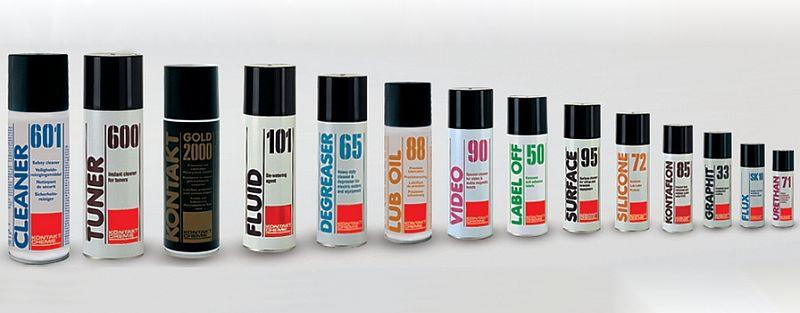 Комет Електроникс предлага продуктите на KONTAKT CHEMIE