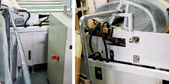 Машина за велпапе и картон – с високо ниво на безопасност, готова за европейския пазар