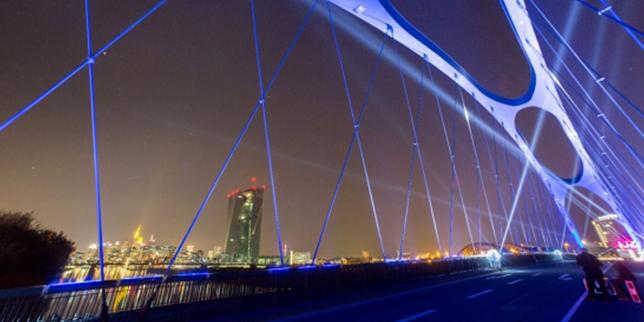 Светлинното шоу Luminale ще трансформира Франкфурт по време на Light+Building 2016