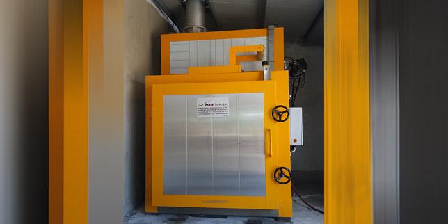 MEP Teknik достави пиролизна пещ за машиностроителна компания в Казанлък