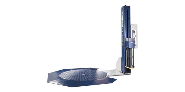 Висока гъвкавост на зареждане с Masterplat Plus LP на Robopac