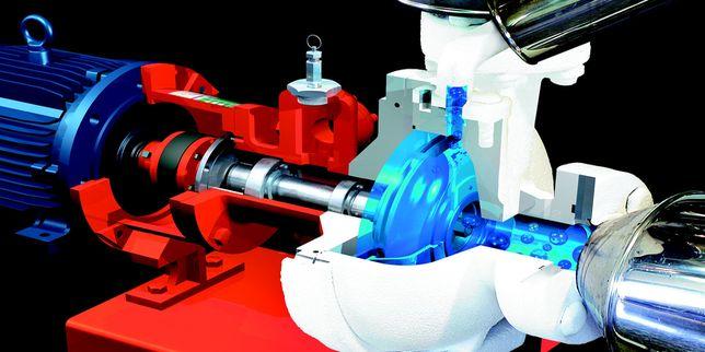 Мониторинг на уплътненията, кавитацията и вибрациите в индустриални помпи