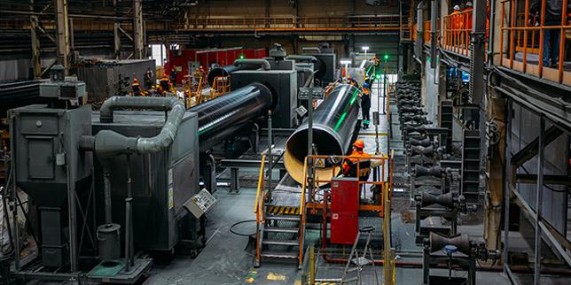 Индустриални антикорозионни покрития
