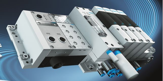 Festo Motion Terminals дигитализира пневматиката