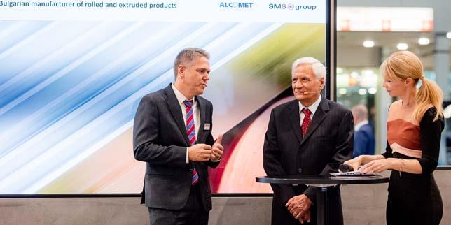 Успешно представяне на Алкомет на Aluminium 2018