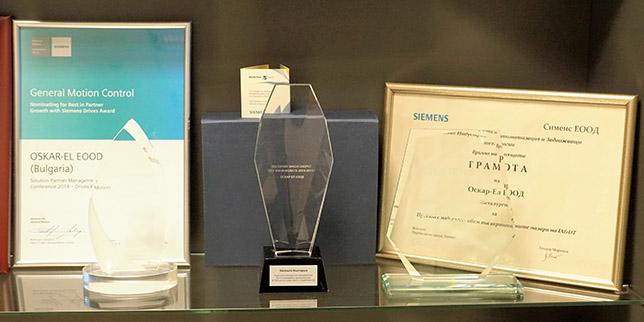 Престижно глобално отличие за водещ партньор на SIEMENS България