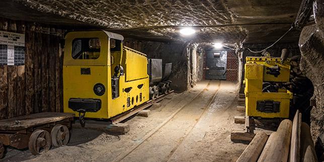 Осветление в минната индустрия