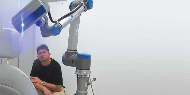 АДА 3Д: Системата RoboScanner е подходяща за взискателни инженерни приложения