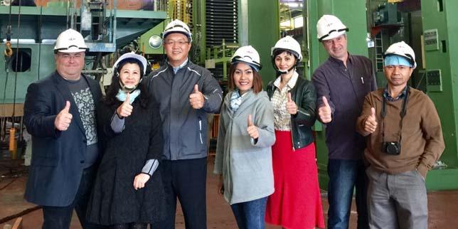 TAITRA проведе медиен тур на машиностроителни заводи в Тайван