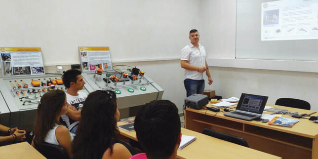ifm electronic достави високотехнологично лабораторно оборудване в Русенския университет