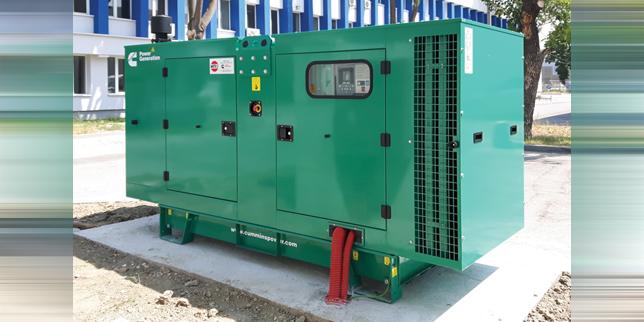 ИПО достави дизелов генератор на производител на електрически и електропреносни компоненти