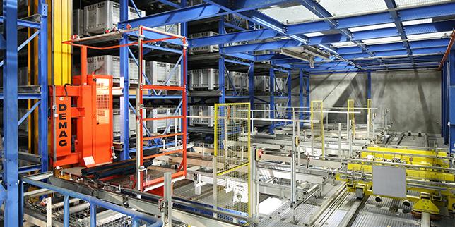 iFD Group пусна нов роботизиран палетен склад в Германия