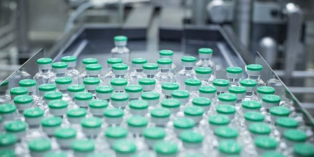 Пълнене на течности във фармацията