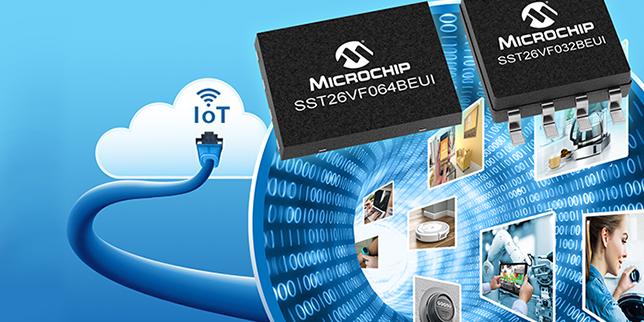 Microchip обяви първата NOR флаш памет с MAC адреси