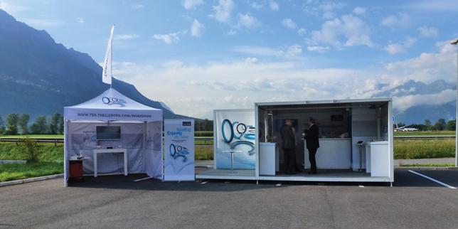 Мобилно продуктово шоу за уплътнителни решения на Trelleborg
