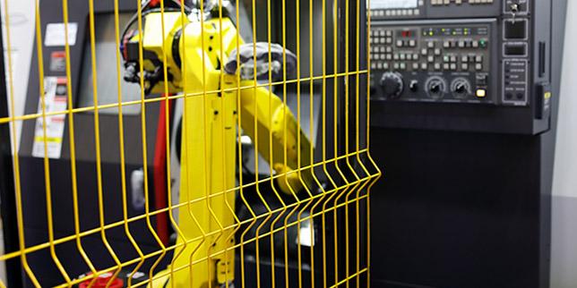 Светлинни (оптоелектронни) завеси и бариери за роботизирани клетки