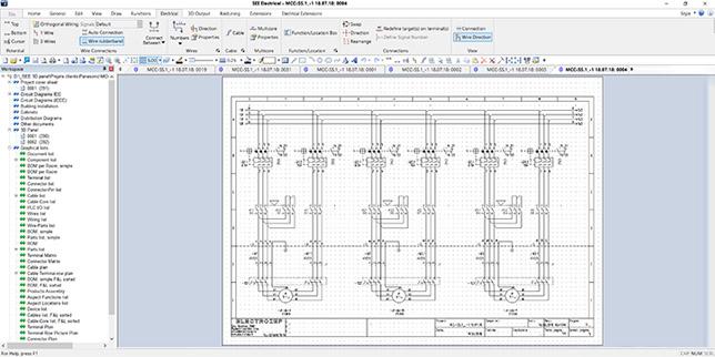 SEE Electrical Standard : богата на функционалности опция с висока стойност за проектиране на електрически схеми в сферата на автоматизацията