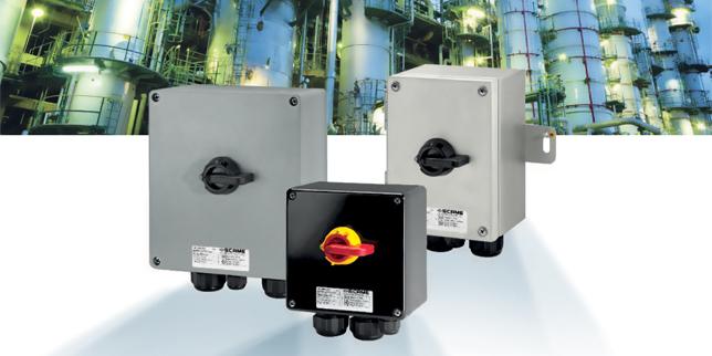 НОВО в серията ISOLATORS на SCAME - специализирани взривозащитени разединители за експлозивна среда с прах и газ
