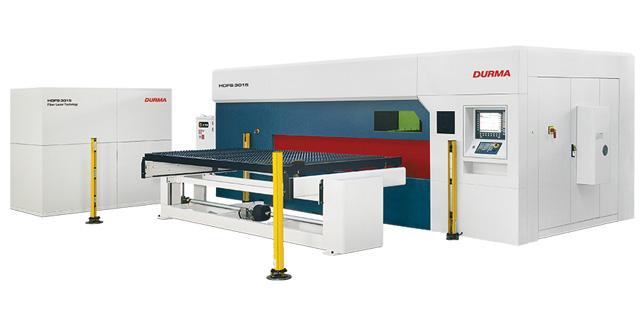 DURMA HD LASER3015 обединява в себе си технологичните новости в листообработващата промишленост