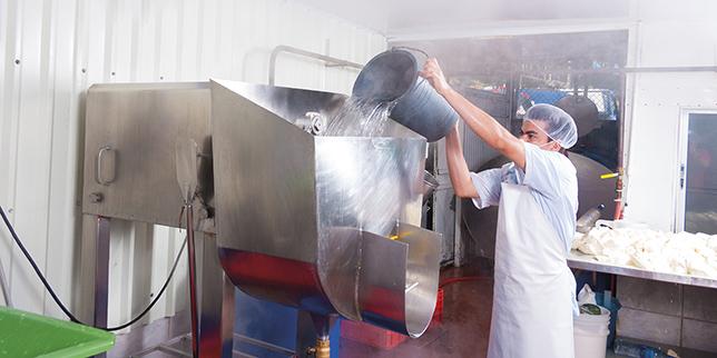 Оборудване за води в хранително-вкусовата промишленост