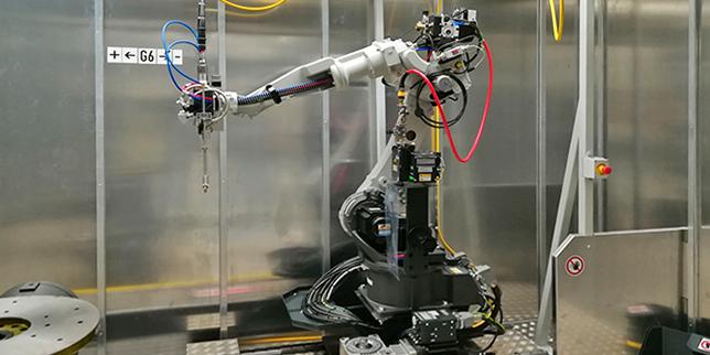 Евромаркет Метал достави първата роботизирана заваръчна система LAPRISS у нас