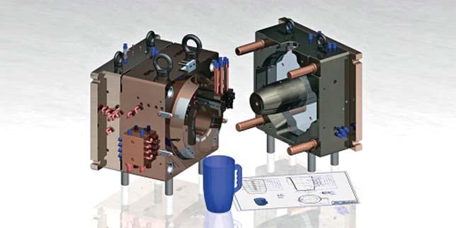 СпейсКАД предлага ефективни CNC стратегии за механична обработка на матрици