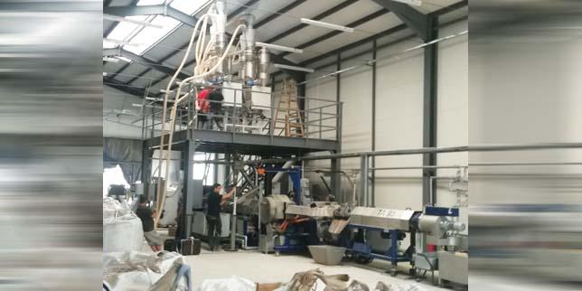 Екоинвест внедри иновативна екструдерна инсталация за рециклиране на пластмаси