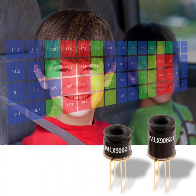 Инфрачервените сензори с матрица от термодвойки (thermopile) разкриват нови възможности пред разработчиците.