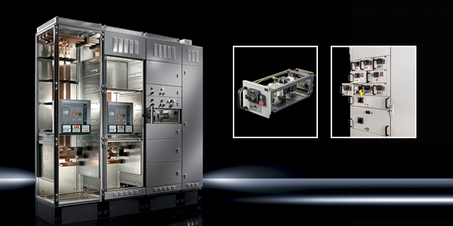 Изваждаеми решения от Ритал - оптимална конструкция за шкафове за комутационна апаратура