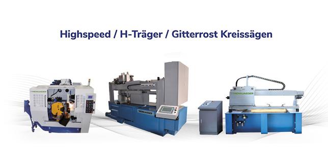 Високопроизводителни отрезни машини TRENNJAEGER