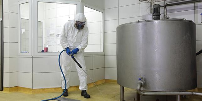 Дюзи за почистване на резервоари и оборудване