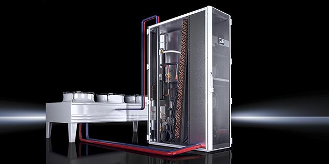 Новото попълнение прецизна климатизация LCP-DX/FC 20 kW & 35 kW с free cooling
