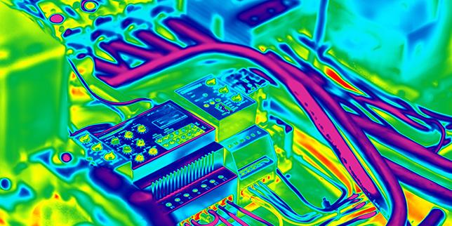 Инфрачервена термография за поддръжка на ел. инсталации
