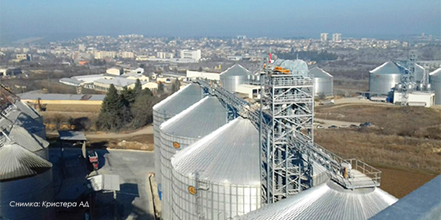 Ефективно и сигурно управление на процесите в зърнобази