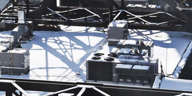 Експлоатация на охладителни кули в студени климатични условия
