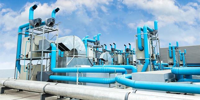 Климатични системи с въздушно и водно охлаждане за индустрията