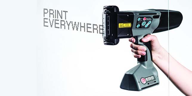 Неограничени възможности с преносимите мастиленоструйни принтери EBS Handjet