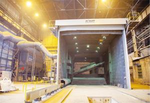 ROESLER произведе една от най-големите бластиращи инсталации в света