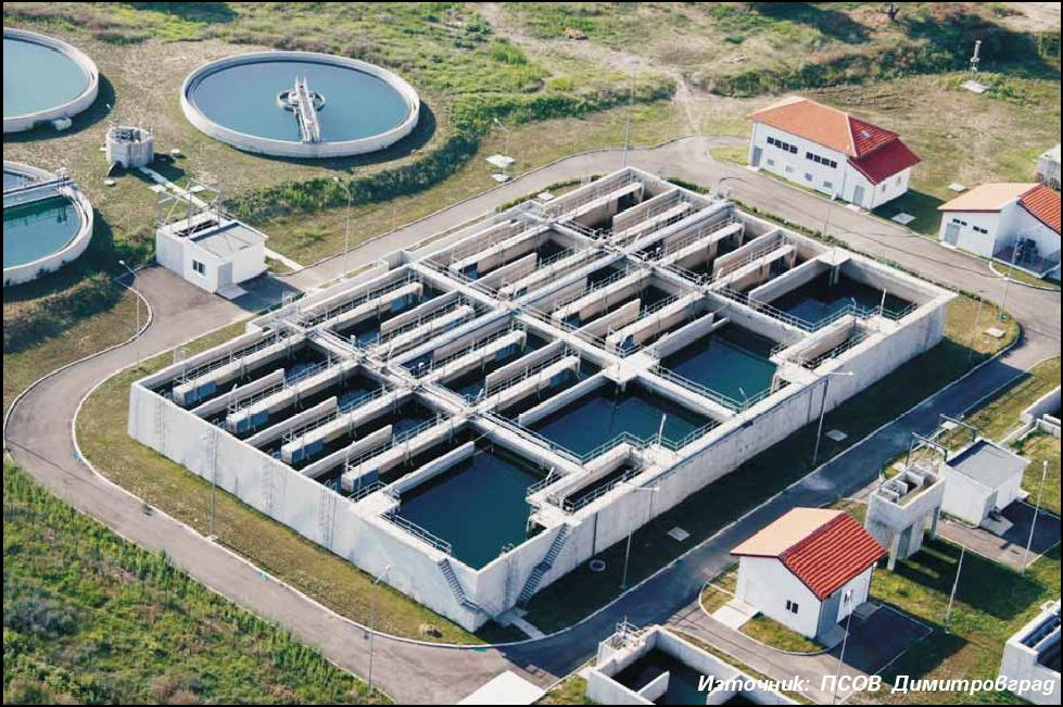 Изграждане на ПСОВ в басейна на р. Марица